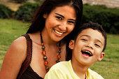 Multiethnic Family