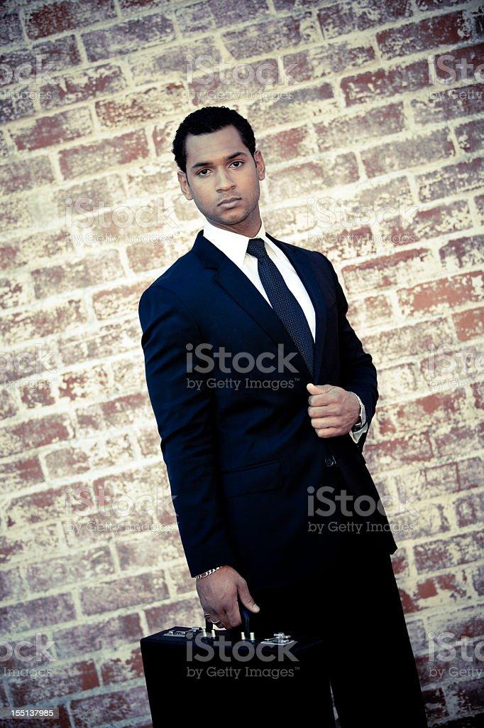 Multiethnic Male Businessman Model Suit royalty-free stock photo