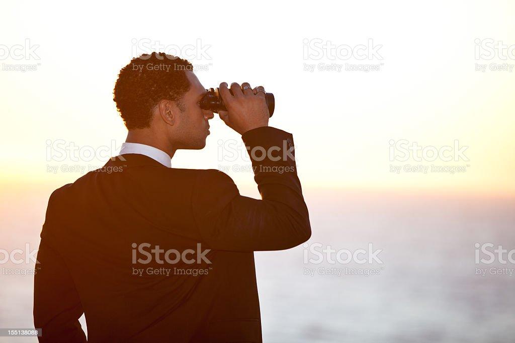 Multiethnic Male Businessman Model Suit stock photo