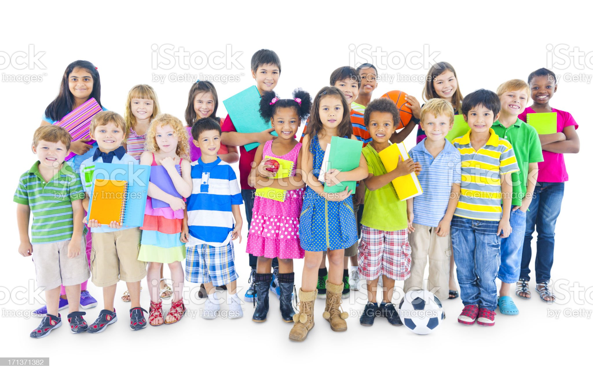 Multi-ethnic people from around the world royalty-free stock photo