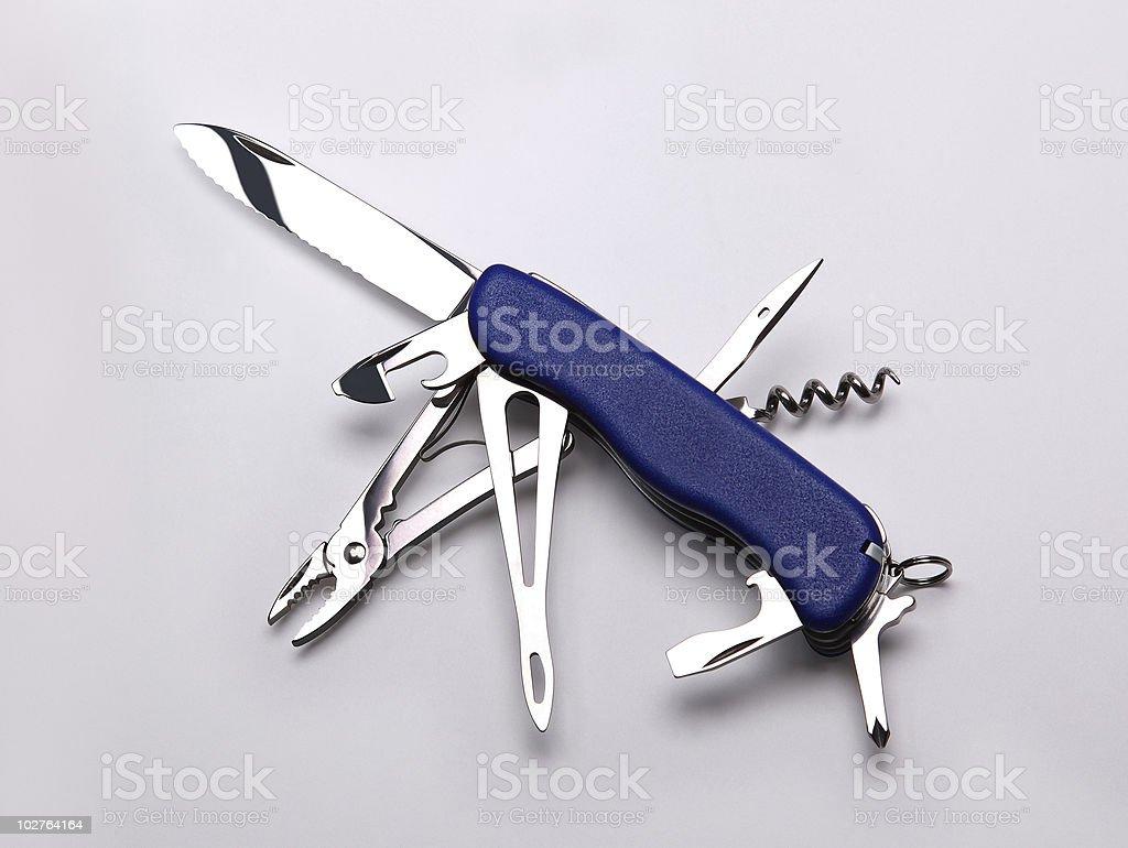 Multifunction Knife royalty-free stock photo