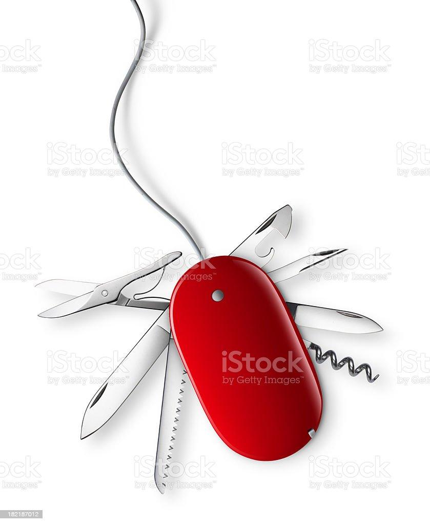 Multifunctional mouse stock photo