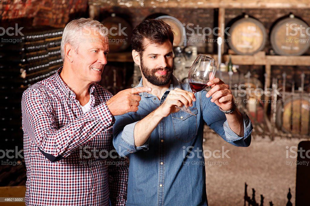Multigenerational business stock photo