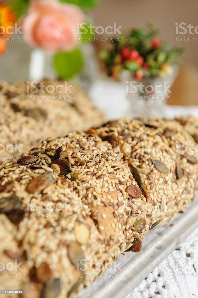 Multigrain bread royalty-free stock photo