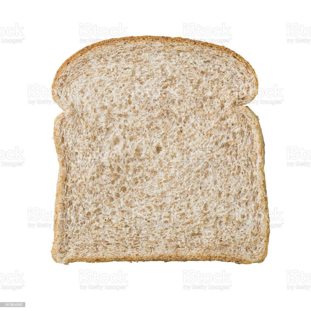 Multigrain bread slice stock photo