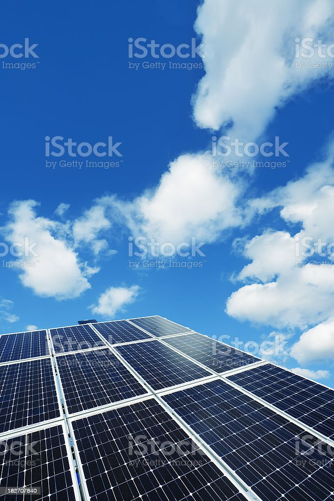 Multijuction Solar Cell royalty-free stock photo