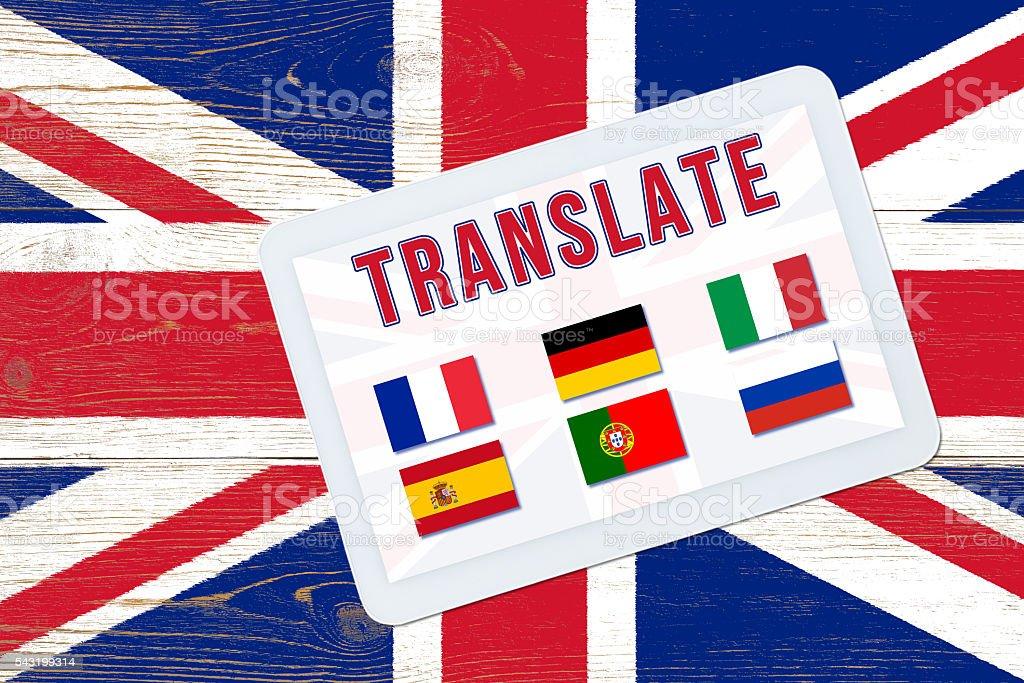 multilingual translate stock photo