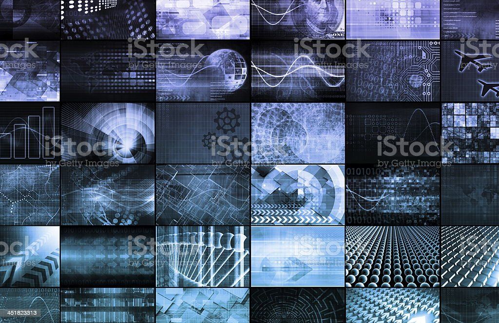 Multimedia Marketing stock photo