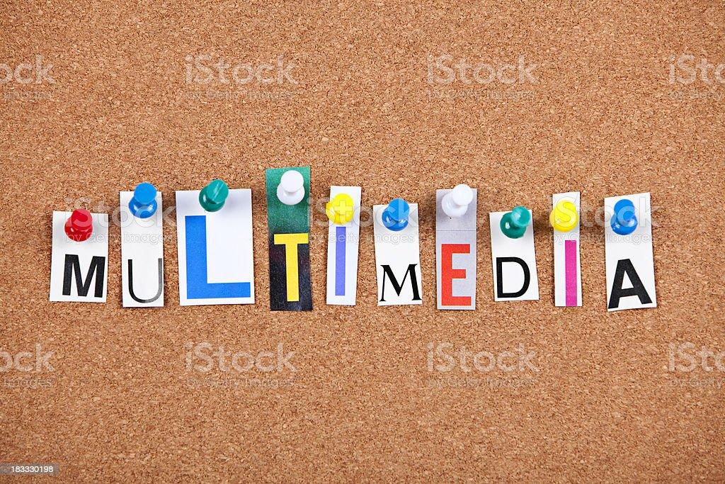 Multimedia royalty-free stock photo