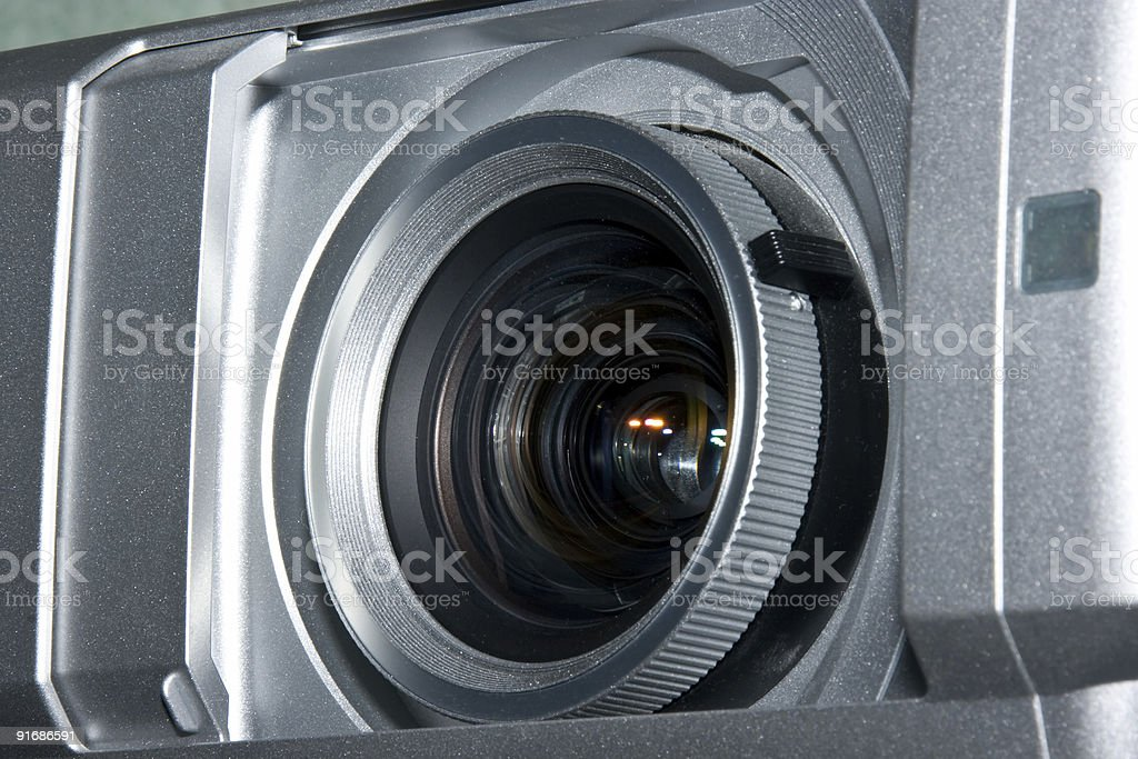 multimedia projector royalty-free stock photo