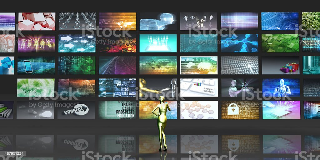Multimedia Technology stock photo