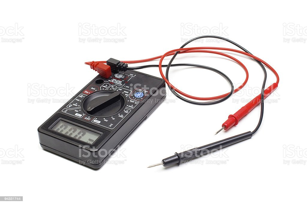 multimeter royalty-free stock photo