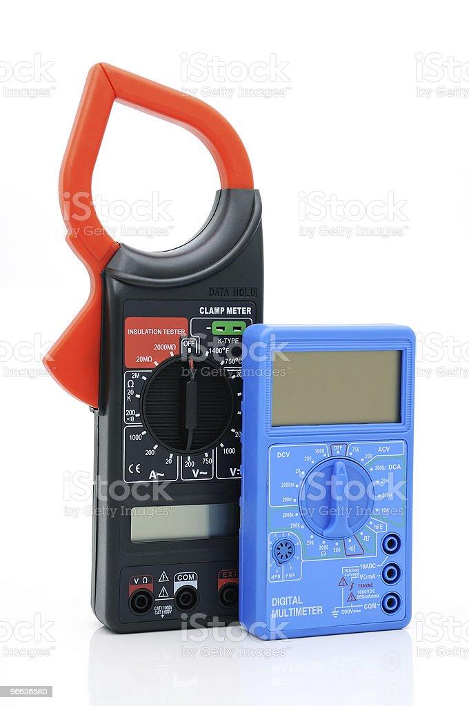 Multimeters stock photo