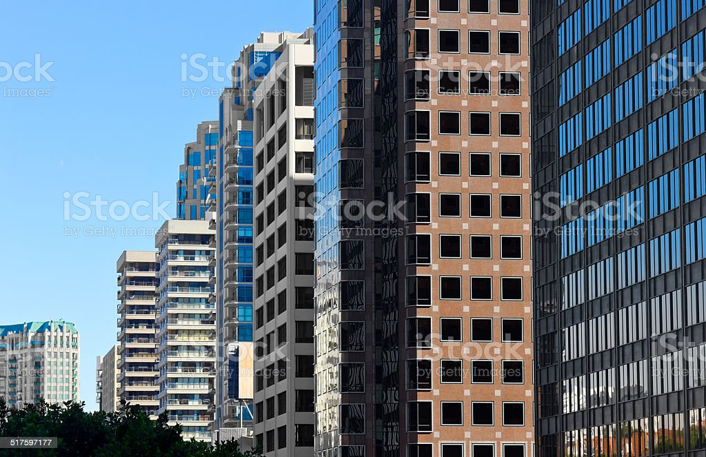 Multiple Buildings stock photo