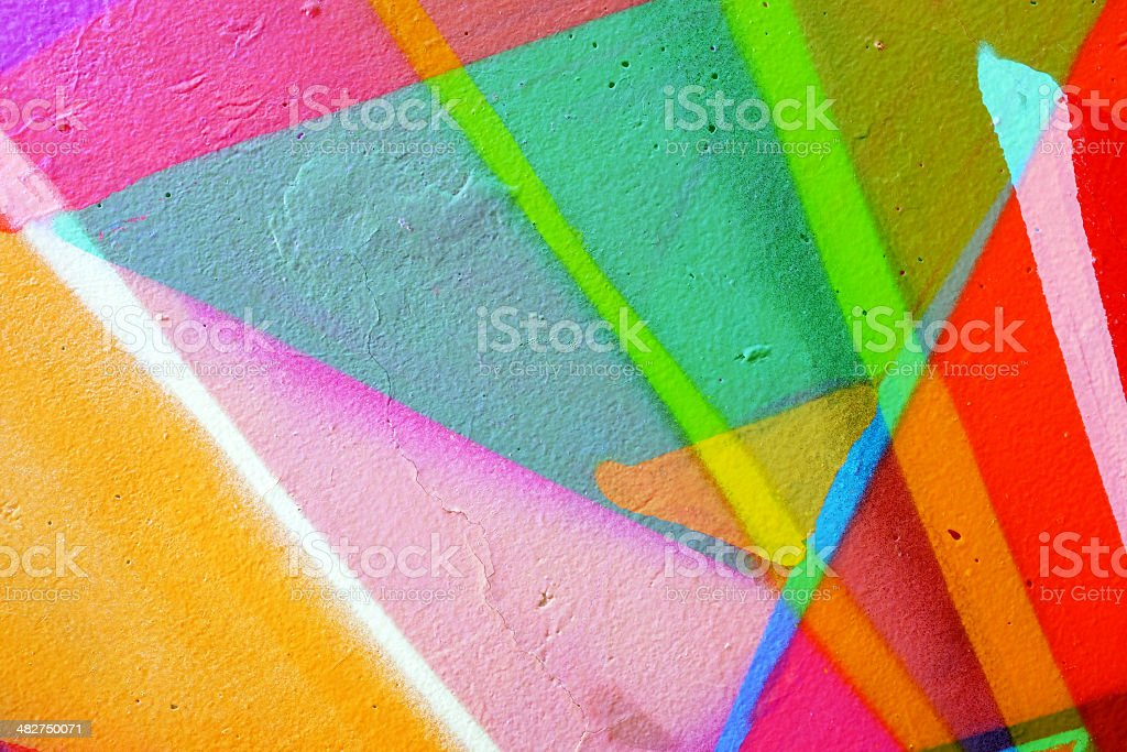 Multiple exposure wall background stock photo