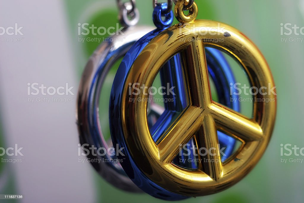 Multiple Peace royalty-free stock photo