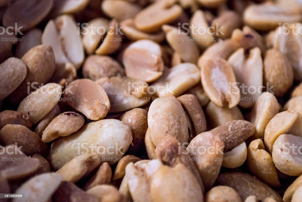 Multiple Peanuts Background royalty-free stock photo