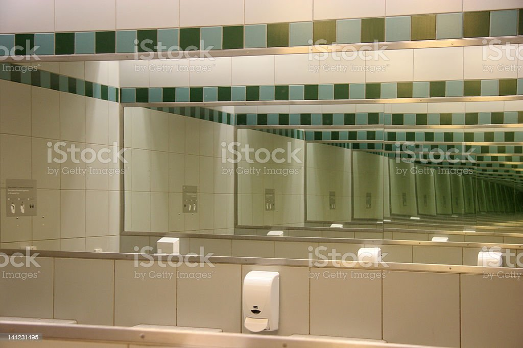 Multiple reflection royalty-free stock photo