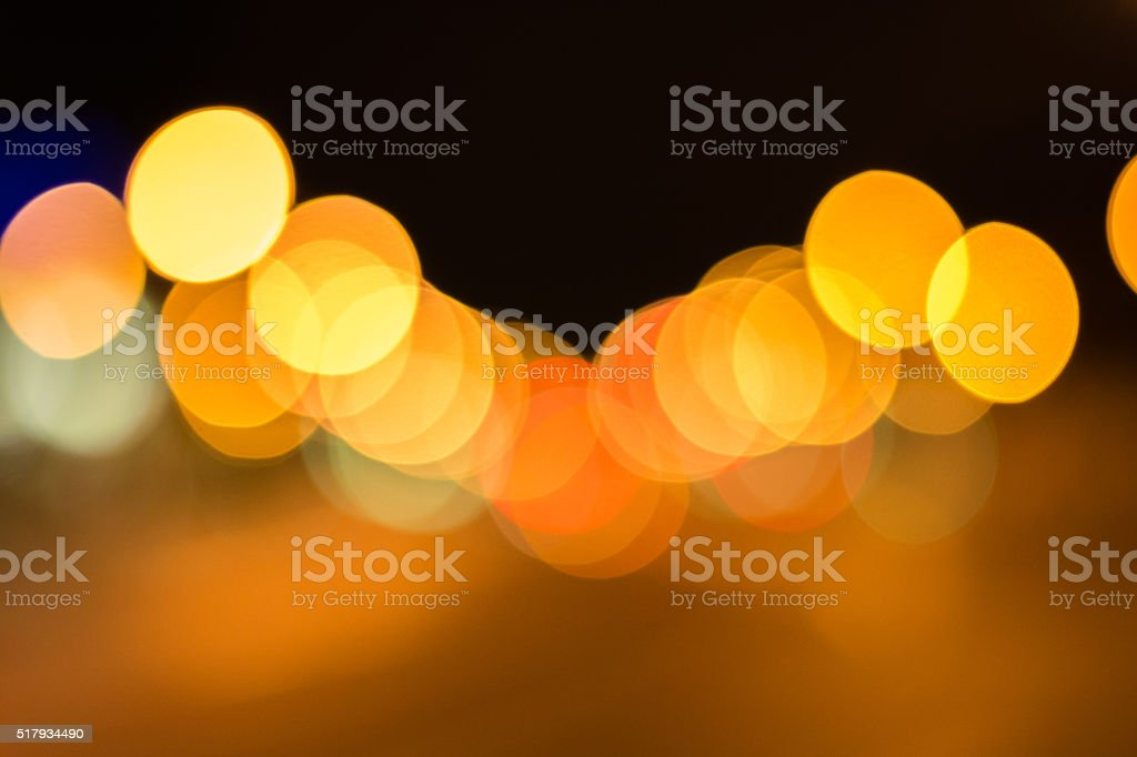 Multiple repetitive bokeh dots backgorund stock photo