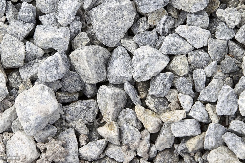 Multiple rough natural stones stock photo