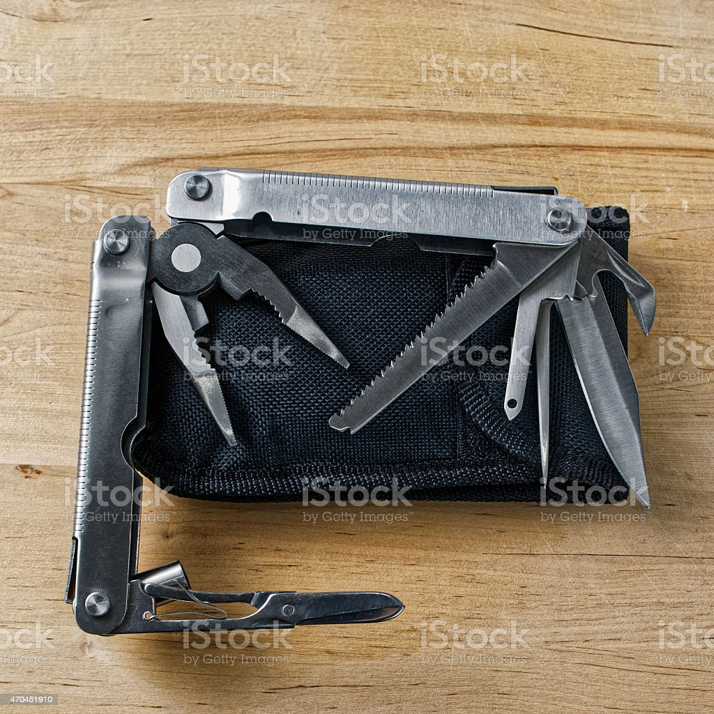 Multipurpose hand tool stock photo