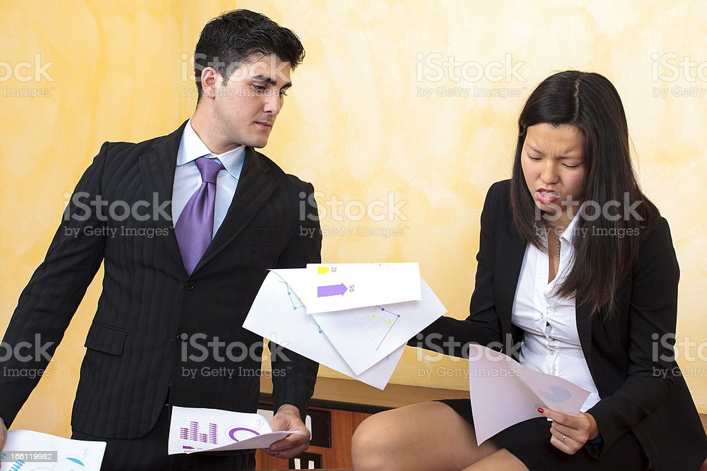 Multiracial Business People royalty-free stock photo