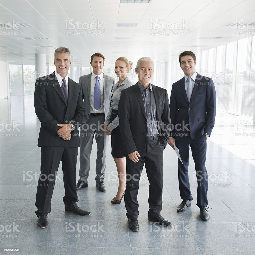 Multiracial Business Team stock photo