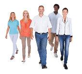 Multi-racial Group Of People