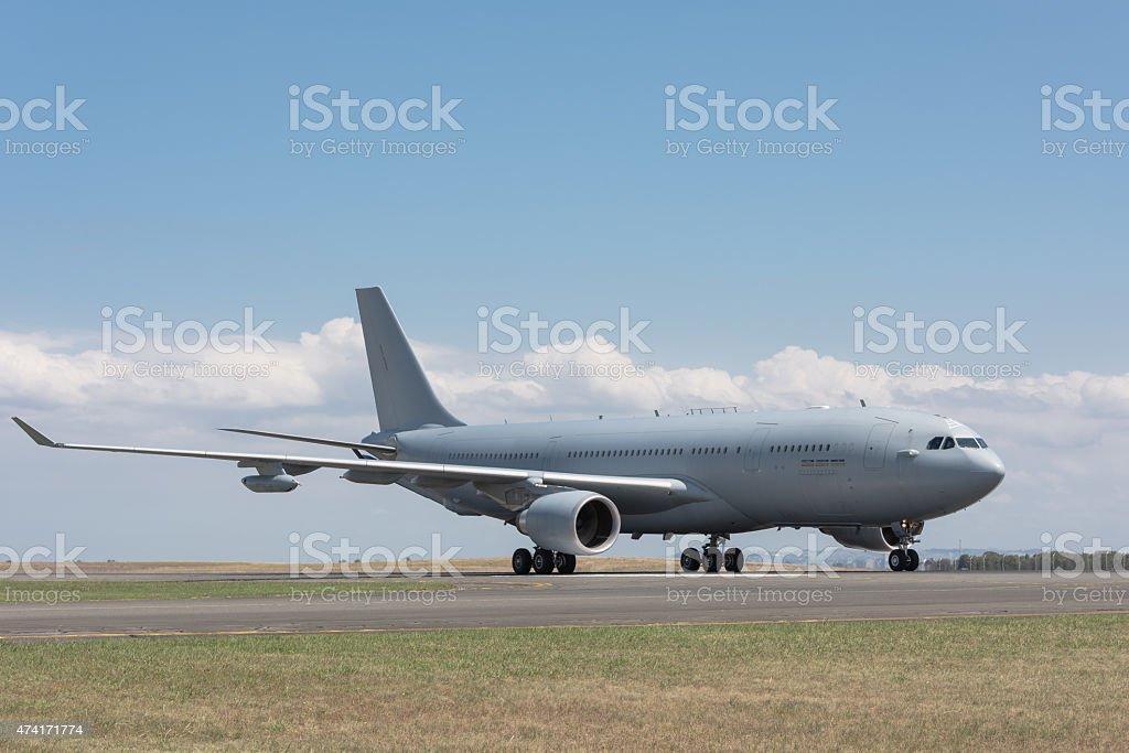 Multirole Avião Petroleiro e transporte foto royalty-free