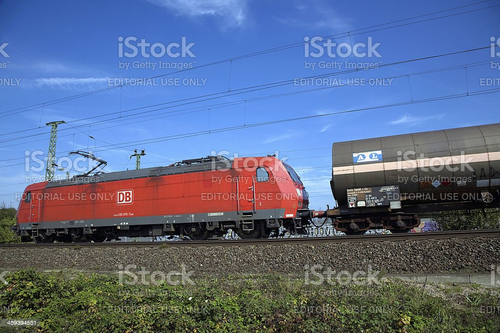 Multi-system locomotive BR 185 from Germany stock photo