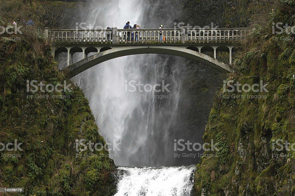 Multnomah Falls royalty-free stock photo