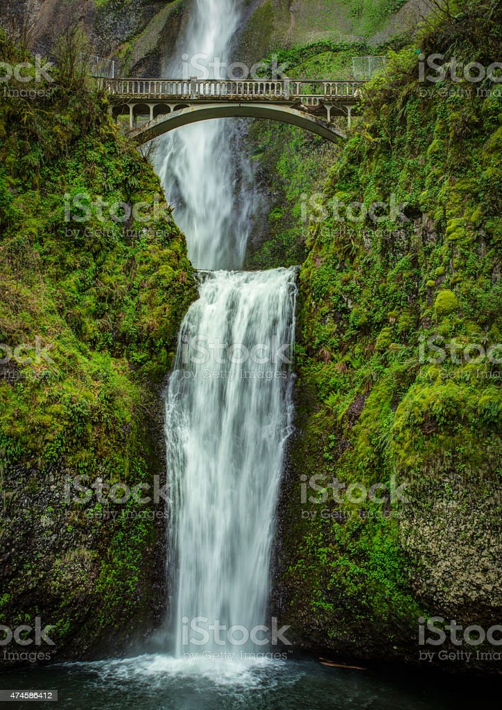 Multnomah Falls stock photo