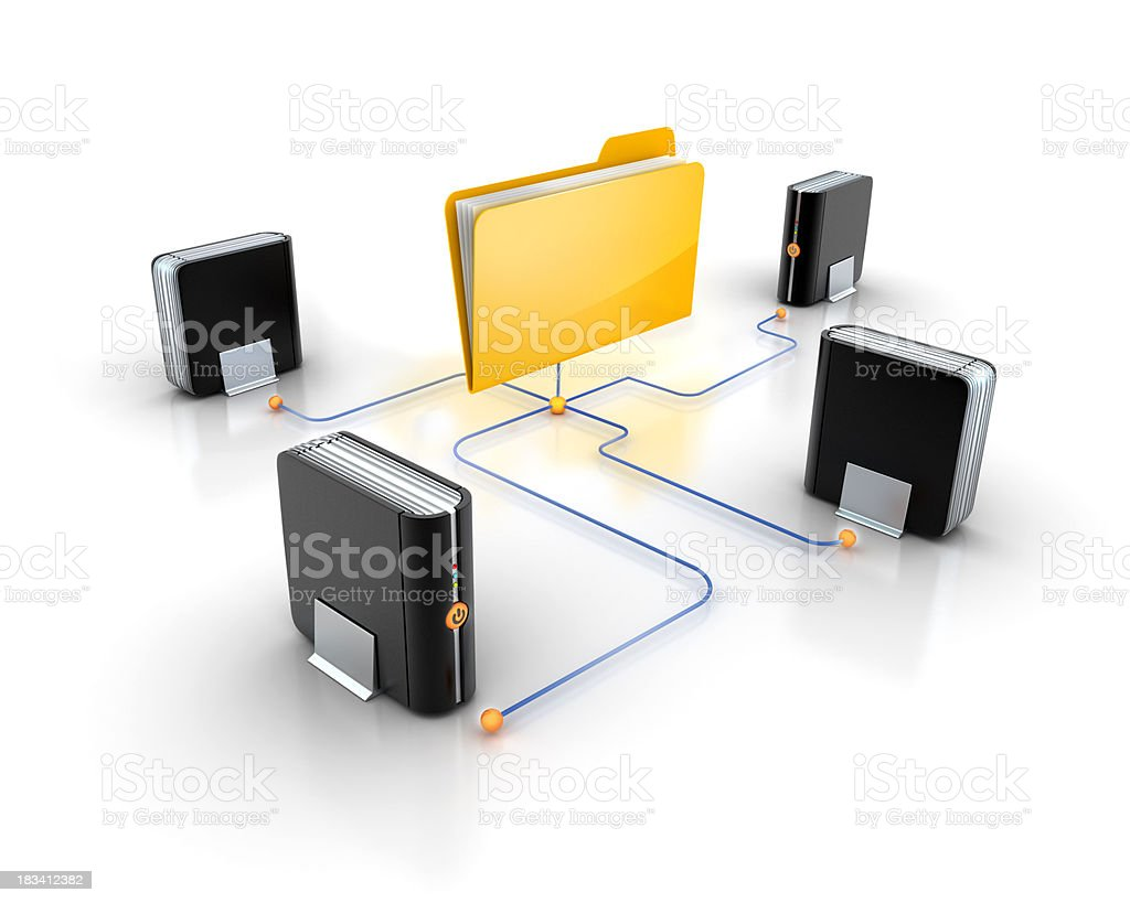 multy backup plans stock photo