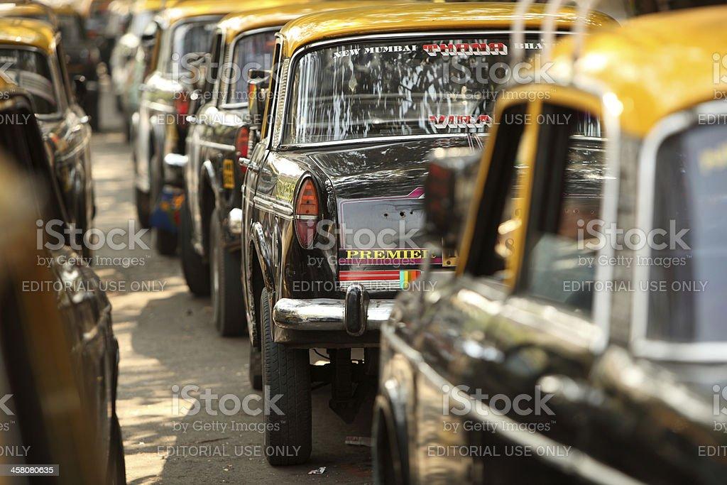 Mumbai Taxi stock photo