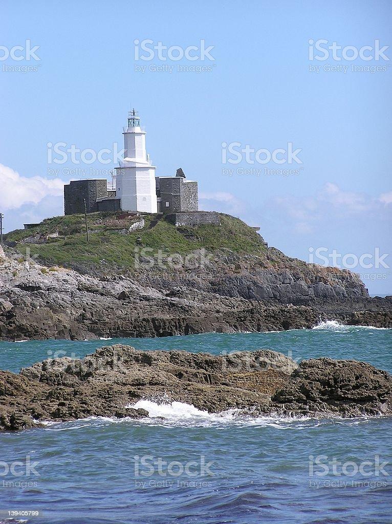 Mumbles Lighthouse 3 stock photo