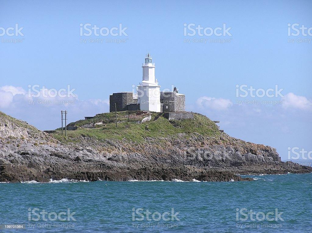 Mumbles Lighthouse 4 stock photo