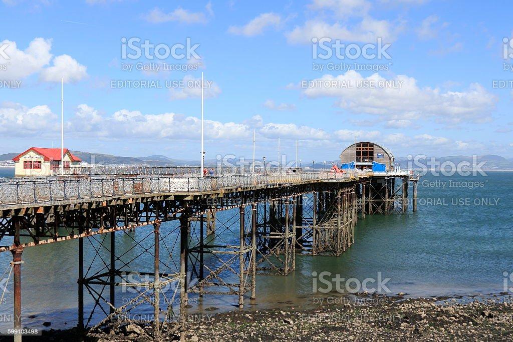 Mumbles Pier stock photo