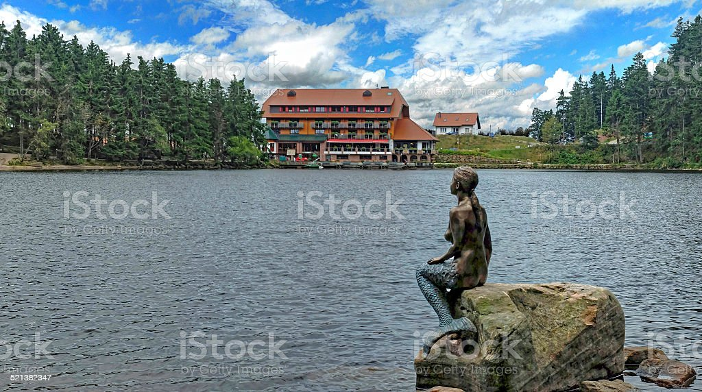 Mummelsee, Black Forest, Germany stock photo