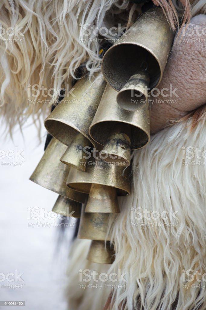 Mummer's Bells stock photo
