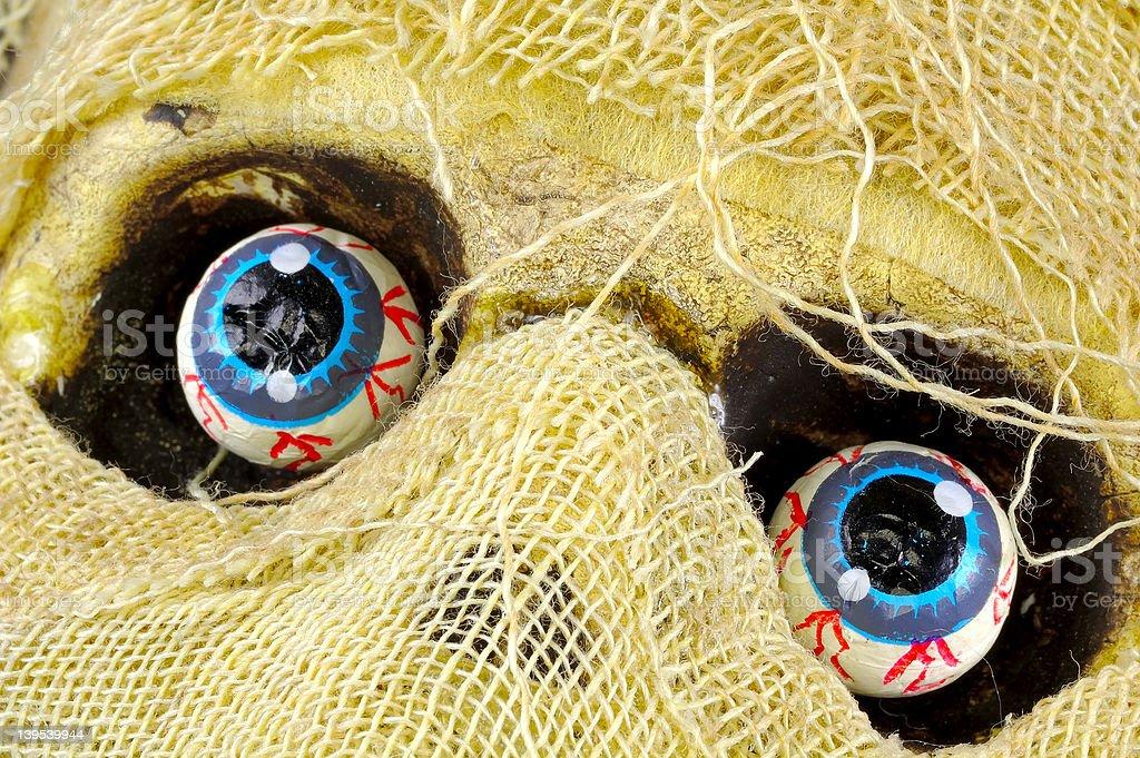 Mummies Eyes royalty-free stock photo