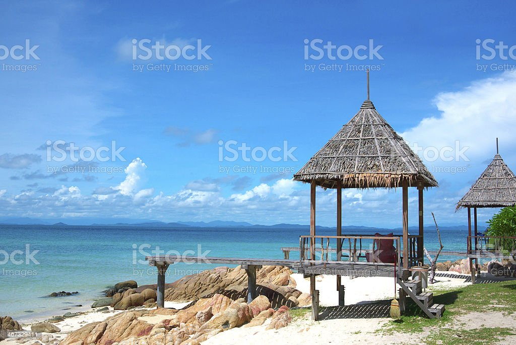 Mun Nork island stock photo