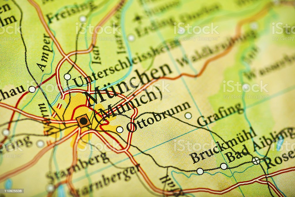 Munchen, Germany royalty-free stock photo