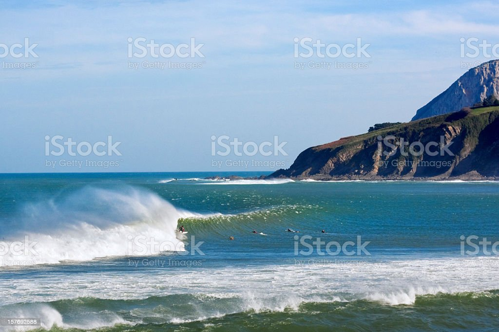 Mundaka royalty-free stock photo