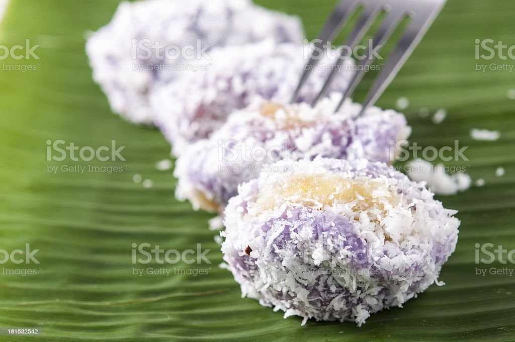 mung bean rice-crepe stock photo