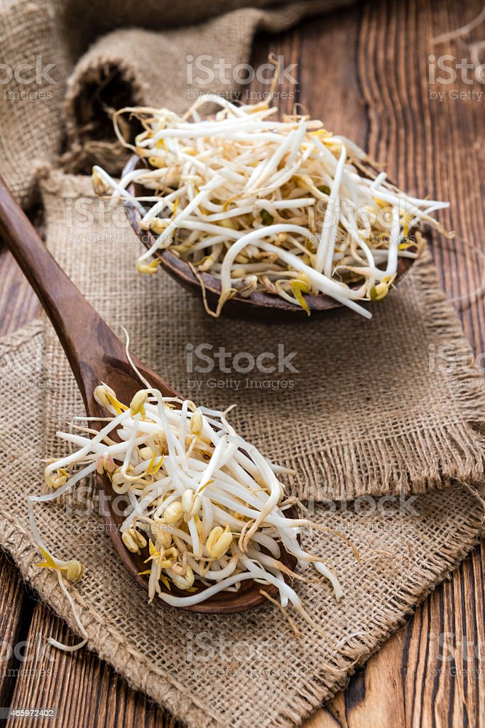 Mungbean Sprouts stock photo