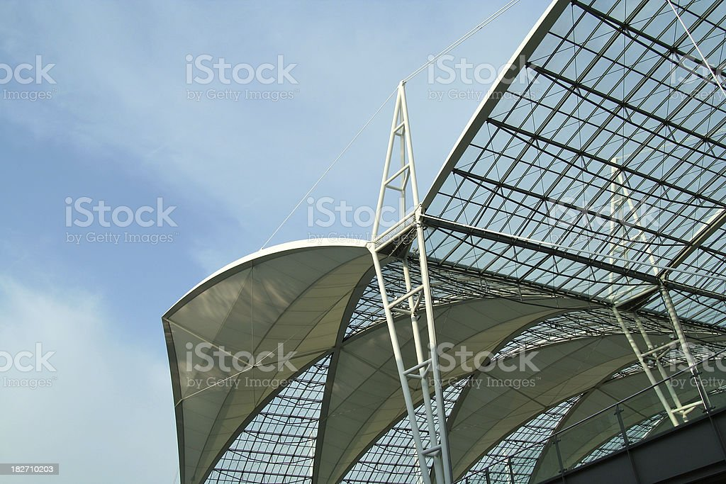 Munich Airport stock photo