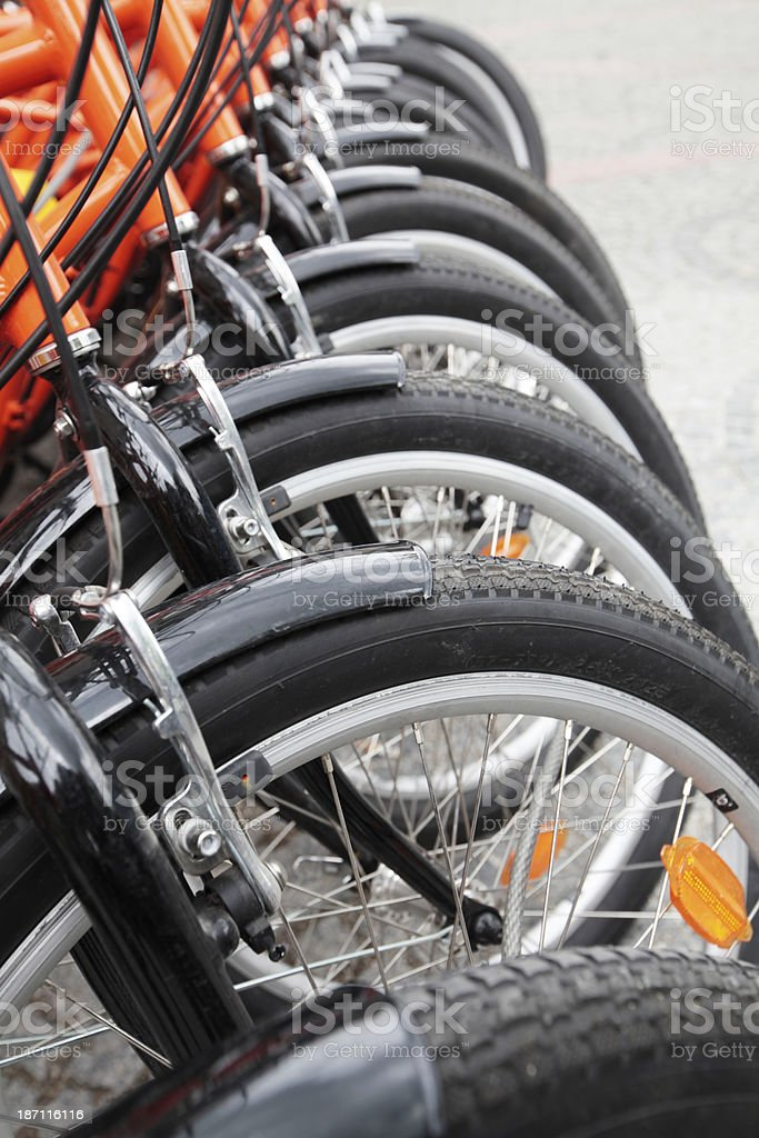 Munich bike royalty-free stock photo