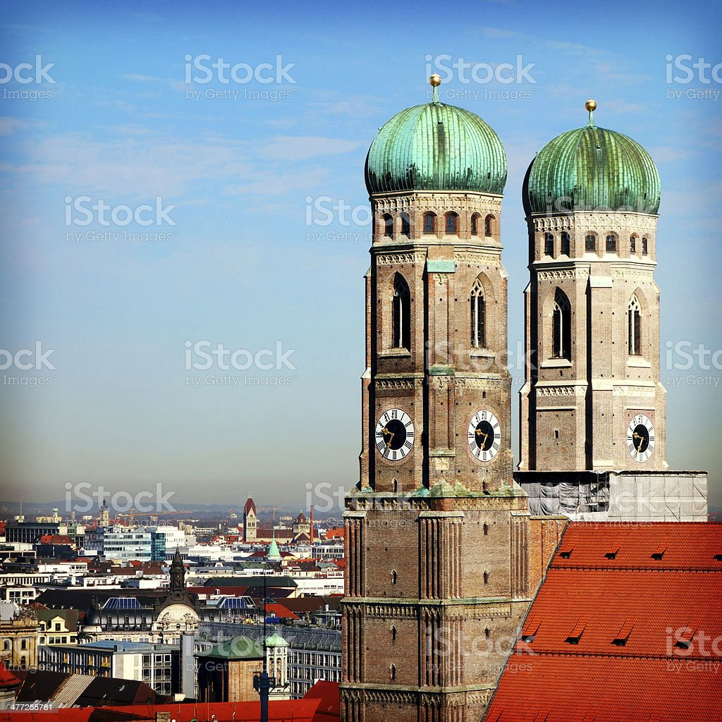 Munich Cathedral royalty-free stock photo