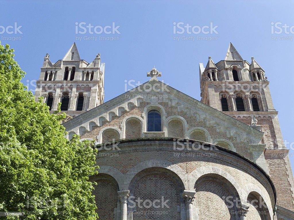 Munich Churches: St. Maximilian royalty-free stock photo