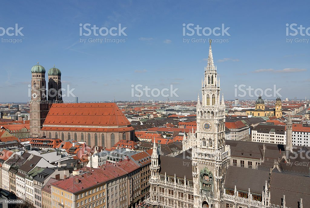 Munich - City view royalty-free stock photo